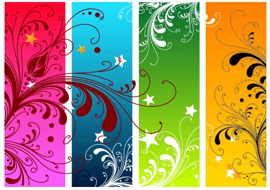 Векторная графика цветочный фон